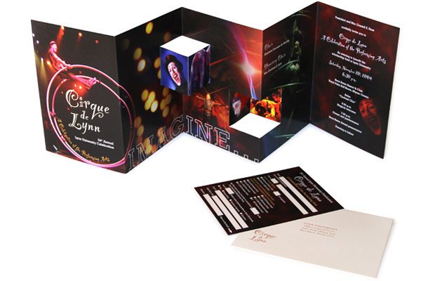 Cirque De Lynn Invitation Package